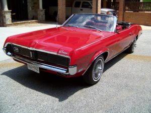 1969 Cougar XR 7 Convertible Restoration
